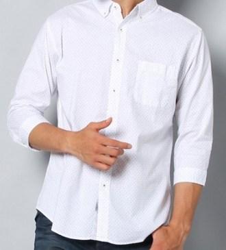 七分丈シャツ