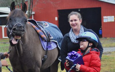 Confidence and Joy: Hippotherapy Goes Beyond Physical Benefits