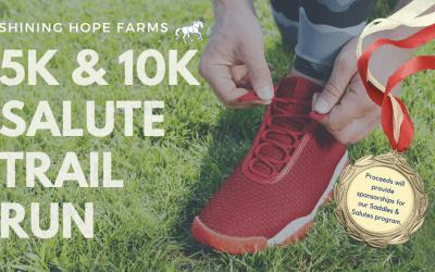 Shining Hope Farms 5k/10k Salute Trail Run
