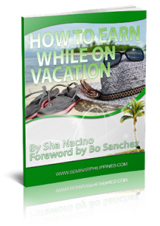 How To Earn While On Vacation {Get your free eBook!}