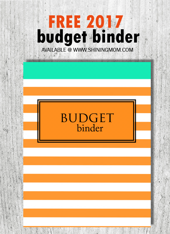 save and invest  2017 free budget binder