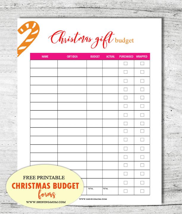 christmas-budget-free-printable