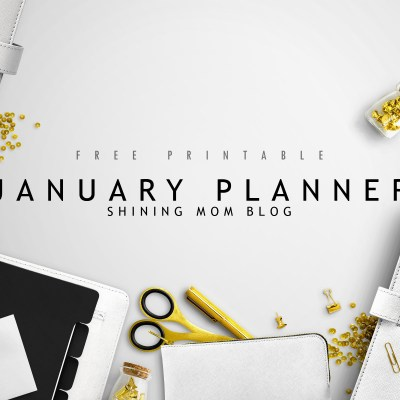 Start the Year Right with this January Planner!