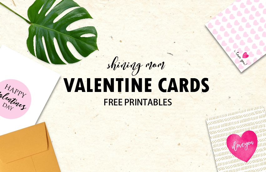 FREE Cool Valentine Cards to Print New Designs – Valentines Day Cards to from
