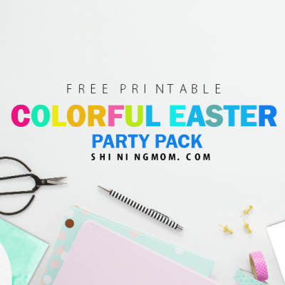 Free Easter Party Printables Pack: Fun and Colorful!