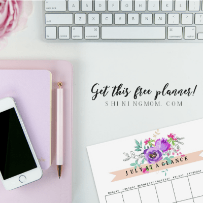 Plan a Bountiful July: Print this FREE Beautiful Planner!