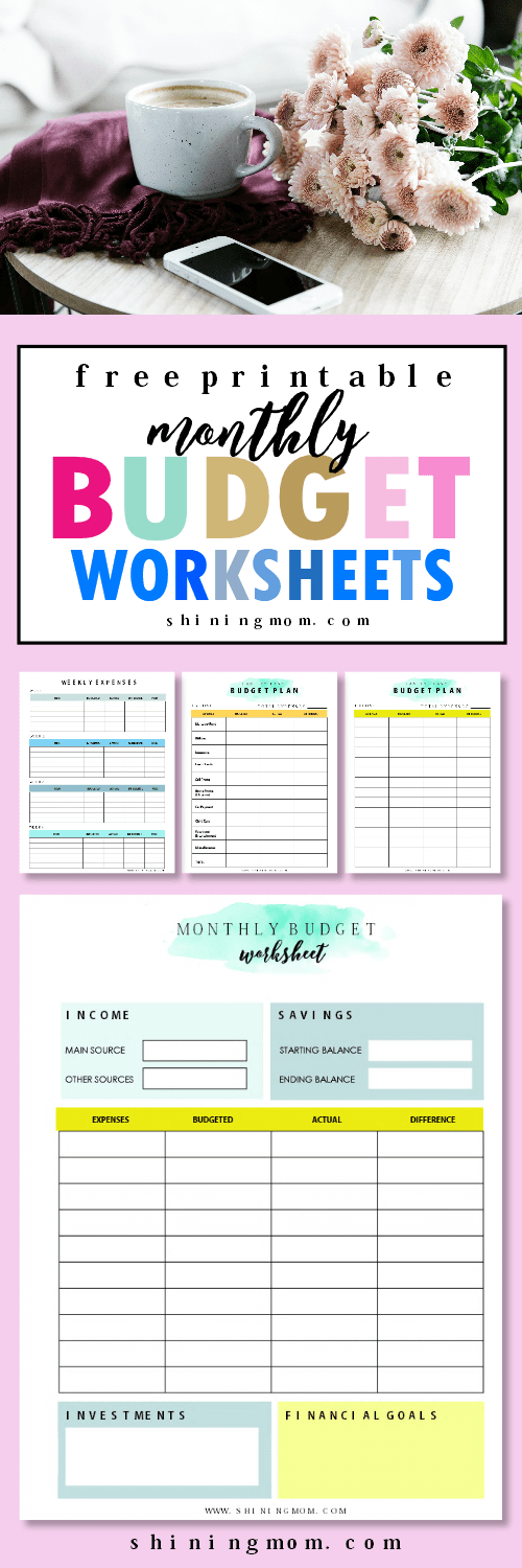 The FREE Monthly Budget Worksheet You Actually Need – Monthly Budget Worksheet Free