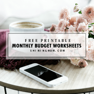 The Free Monthly Budget Worksheet You Actually Need