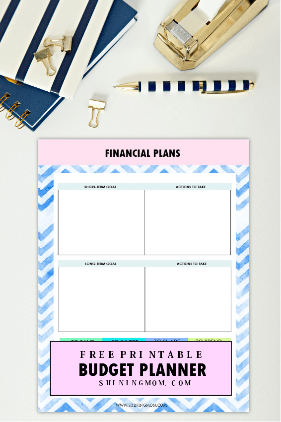 It Will Help You Set A Clear Financial Goal So You Can Educate Yourself On  How That Can Be Achieved. And Oh, Meal Planning Budget Worksheets Are Also  ...