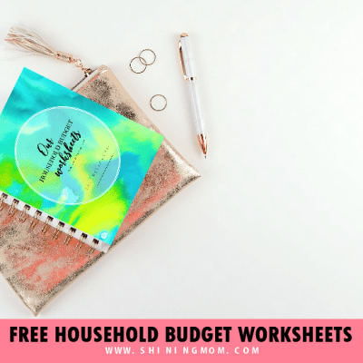 8 Free Printable Household Budget Templates!
