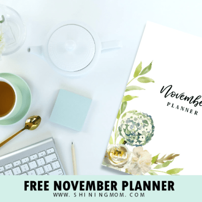 Free November Planner: Plan an Amazingly Productive Month!