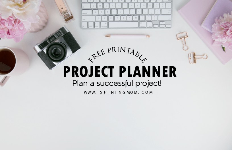 project planning template printable
