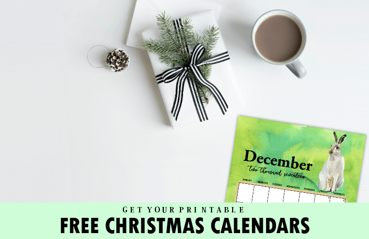 Get Your Gift: Free 2017 Christmas Themed Calendars