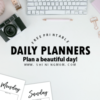 Brilliant Free 2018 Daily Planners You'll Fall In Love With