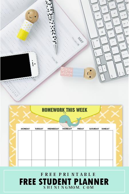 planner calendar printable