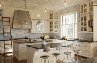 Mixing Gray and Beige in the Kitchen | Shining on Design