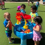 Shining Stars Montessori Water Play Day