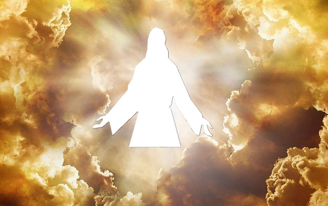 Jesus Coming In The Clouds