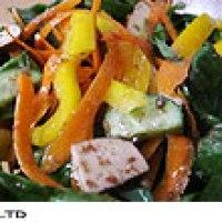 seasoned dry tofu salad