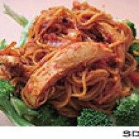 spicy chicken and pasta