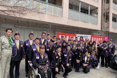2020年01月12日新宿区青少年団体新春祝賀パレード