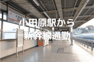 小田原駅ホームアイキャッチ画像