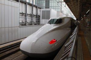 東京駅の新幹線の写真