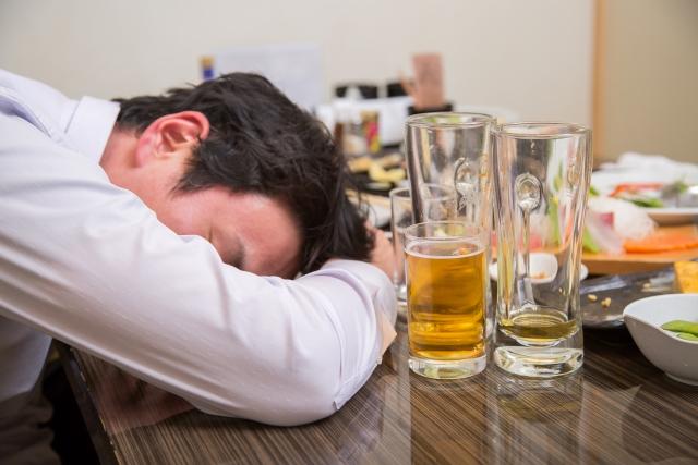 そんなになるまで飲むと大変ですよー漢方で対策しましょう。