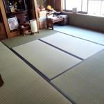 大正区三軒家東にお住まいのお客様宅の畳の新調入替え〜