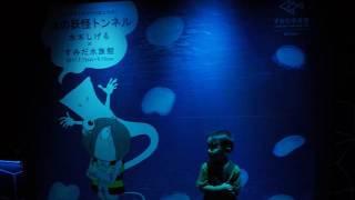 【隠れ妖怪発見】すみだ水族館 鬼太郎とのコラボ開催中!