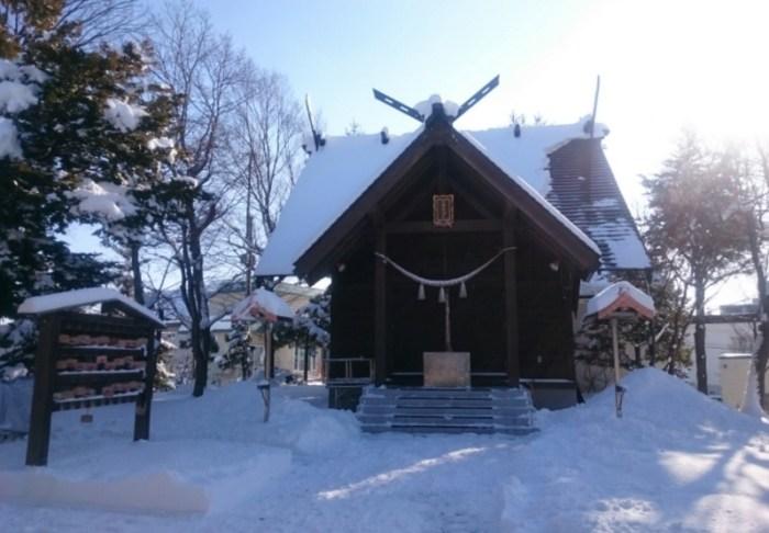 小野幌神社(2017年12月撮影)