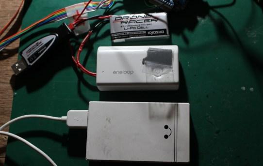 【パワーメーター2019】Xbee電源ローノイズ化<モバイルバッテリー直付が良い>