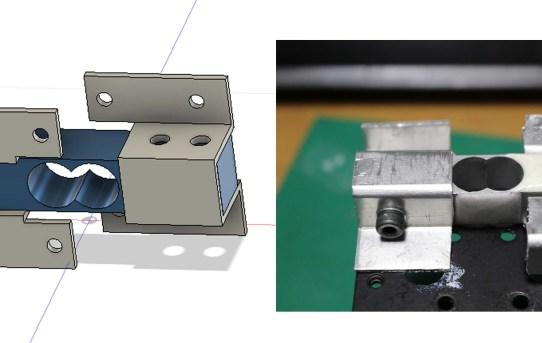 【3DP】ポケットベンダーでサドル型ジョイント金具作った<剛性高い>