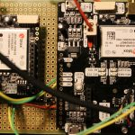 【L-RTK】MovingBase用無線回路組んだ<Serialコネクションが5か所>