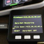 【PowerMeter2020】M5stackを計測コントローラにして試運転成功<左右位相きれいにでた>