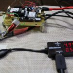 【RTK2021】MovingBase4000mAh電池で2時間40分もつ<電流供給能力が必要>