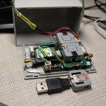 【RTK2021】F9PMBシステム小型化した(35x64x100)<M5Atom2個使いで解決>