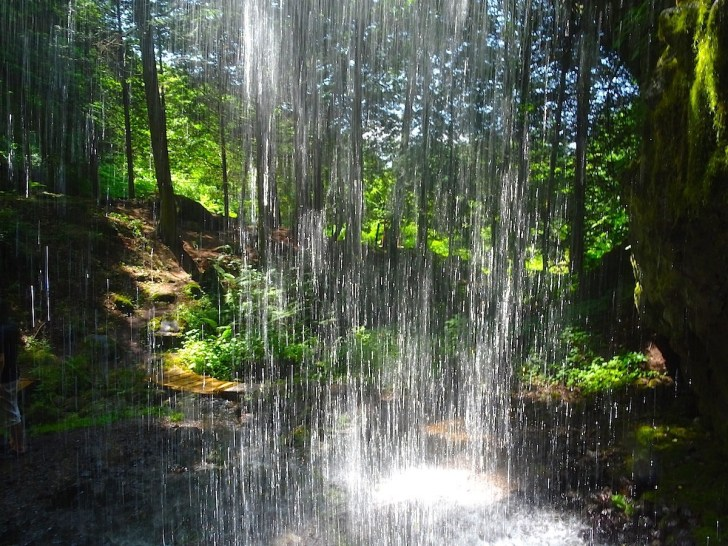 裏見の滝・ 不動の滝