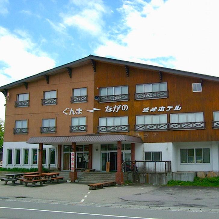 建物の中を県境が走る渋峠ホテル