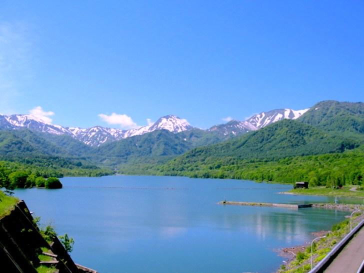 乙見湖(笹ヶ峰ダム)