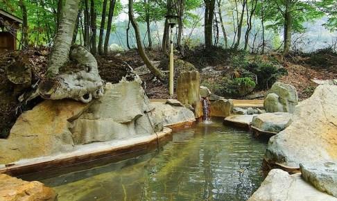 雨飾高原露天風呂