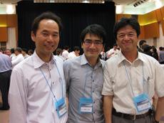 花岡先生、呼吸器外科吉田先生、 富士見病院木野田先生