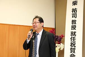 藤本圭作先生 万歳三唱