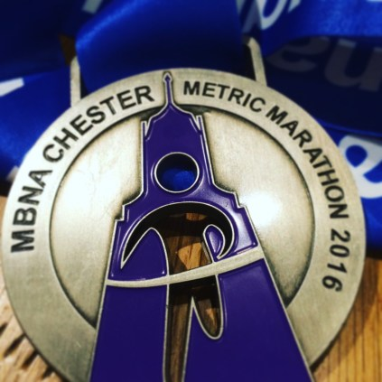 Another great medal from a Chester race