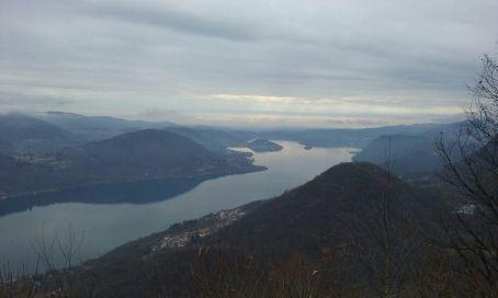 Vista del Lago d'Orta dal dojo