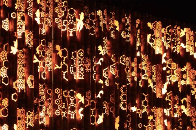 今年も「竹華灯籠祭り」の準備が始まりました。