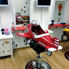 Kids Spa Chair Unfinished Dining Childrens Hairdressers In Wimbledon Ladies Hair Salon
