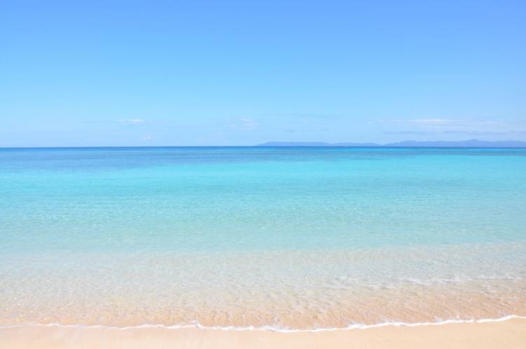 沖縄 波照間島 ニシ浜