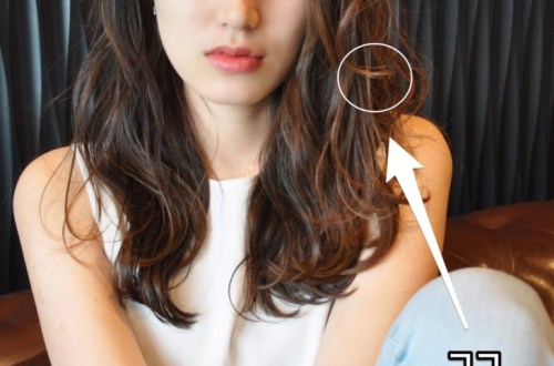 前髪長めのヘアスタイルが似合うポイント