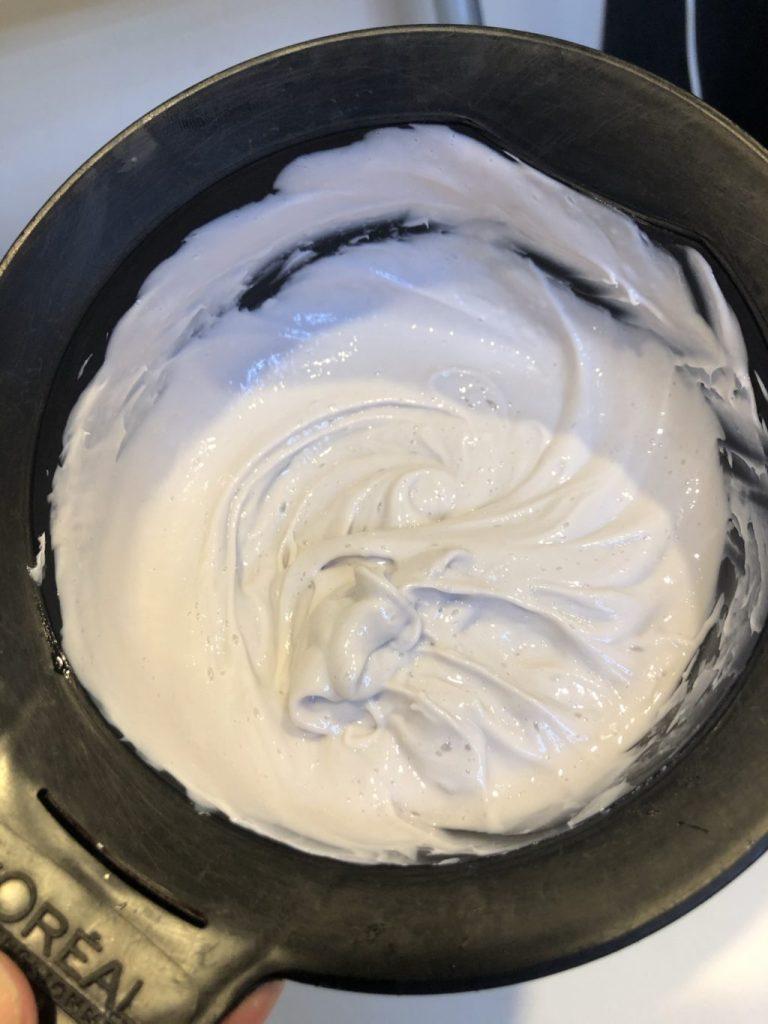 主成分の60%がオイルのカラー剤